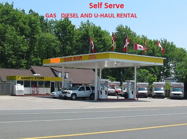Non Branded Gas Station For Sale With Property